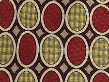 Paul Frederick Art Deco Red Green 56 x 4 100% Silk Mens Tie