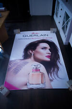 GUERLAIN ANGELINA JOLIE Style D 4x6 ft Shelter Original Vintage Fashion Poster