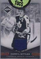 Darryl Sittler 2011-12 Panini Limited Jersey Card 39/99 Toronto Maple Leafs