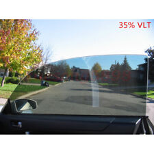50cm*1M Black Glass Window Tint Shade Film VLT 35% Auto Car House Roll New
