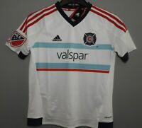 MLS Chicago Fire Adidas Soccer Jersey New Youth Sizes