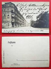 Foto AK DRESDEN 1905 Strassenpartie am Seidnitzerplatz mit Ladengeschäft ( 16792