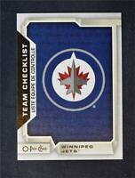 2018-19 18-19 Upper Deck UD O-Pee-Chee OPC Base #578 Winnipeg Jets