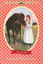 Little House Chapter Book: Animal Adventures 3 by Laura Ingalls Wilder (2000,...