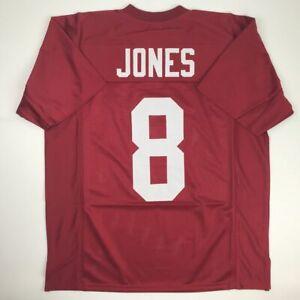 New JULIO JONES Alabama Red College Custom Stitched Football Jersey Men's XL