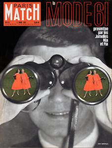Paris Match n° 621 du 4 mars 1961 - Johnny Hallyday à 17 ans