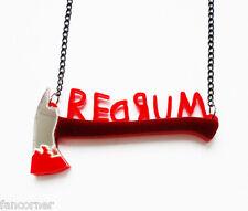 Pendentif Shining collier redrum acrylique haute qualité Shining redrum necklace
