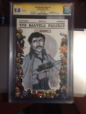 Star Wars hand sketched cover Lando Calrissian CGC 9.8 SS Marvels Project #1
