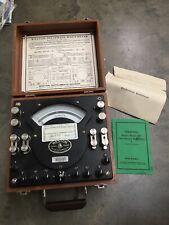 Vintage Weston Polyphase Watt Meter Model 329