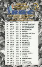 Fixture List - Port Vale 2008/9