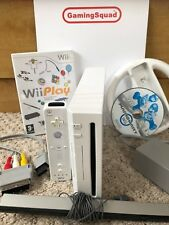 Nintendo Wii Console + 10 Games + Accessory, Supplied by Gaming Squad