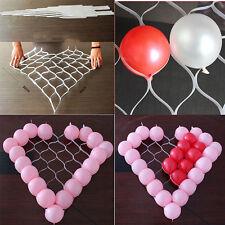 White Plastic Net Heart Shape Balloon Holder Cell Net Model Frame Balloon Holder