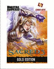 Sacred 3 Gold Steam Key Pc Game Download Code Neu Global