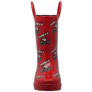 Case IH Children's Big Red Rubber Boots