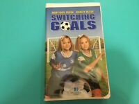 Switching Goals VHS Video Tape Pre Owned Soccer Movie Mary-Kate and Ashley Olsen