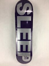 "Death Sleep deck - Death Skateboards 8.5 "" with grip & free shipping"