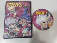 ICZER-3 Iczer 3 Serie Completa 6 Episodi IN 1 DVD + Extra Spagnolo Giapponese Am