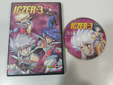 ICZER-3 ICZER 3 SERIE COMPLETA - 6 EPISODIOS EN 1 DVD + EXTRAS ESPAÑOL JAPONES