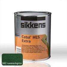 Sikkens Cetol HLS Extra russischgrün 1l - Holzschutz Lasur Holzlasur