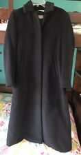 Authentic Pre Owned Max Mara Coat, Size: USA 4, Color: Black