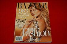 Harper's Bazaar Magazine ~ September 2004 ~ Gisele Bundchen  Fall Fashion Issue