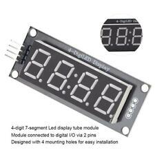 4 Digit 7 Seven Segment Tube LED Display Module TM1637 For Raspberry