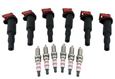 6 Ignition Coil Packs & 1 STEP COLDER Spark Plugs for BMW N54 3.0L I6 Twin Turbo