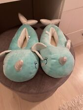 Whale/ Unicorn Slippers - Size 5 *Brand New*