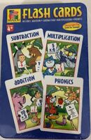 Flashcards Subtraction Multiplication Addition And Phonics Collection In A Tin