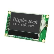 1 x Displaytech Graphic Transflective LCD Monochrome Display Black, LED Backlit