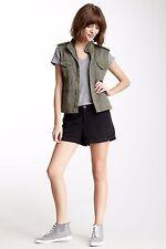 Da Nang Surplue Woven Silk Boheme Short Black Shorts NEW (SPW6823) - XSmall XS