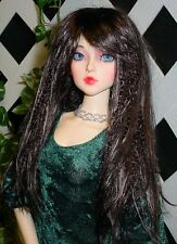 "DOLL Wig, Monique Gold ""J-Rock"" Size 8/9  - Nearly Black"