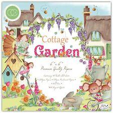 "New Craft Consortium 6"" x 6"" Paper Pad Cottage Garden"