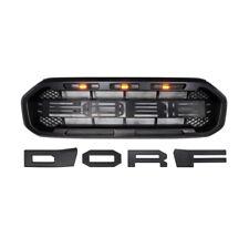 Led Lights Grill Fit For Ford Ranger Raptor Style 2019 2020 2021 XL  XLT Lariat