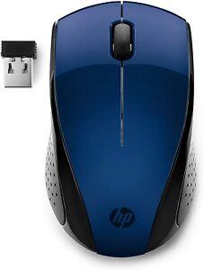 HP 220 BLU 2.4 GHz USB Wireless Mouse with 1300 DPI Optical Sensor