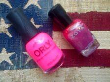 2pc nail polish set in pink: ZOYA Binx & Orly Beach Cruiser