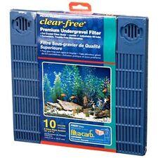 "Penn-Plax Clear Free Premium Undergravel Filter for 10 gallon tank(19"" X 9.5"""