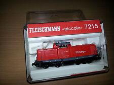 NEU!  Fleischmann 7215 Diesellokomotive BR 212 DB Cargo-rot