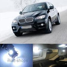 19Pcs Error Free White Lights Interior LED Package Fit BMW E71 X6 M 2008-2011