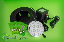 12 head ULTRASONIC MIST MAKER humidifier TEFLON discs NUTRAMIST fogger 120V/230V