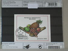 Postfrisch 1992 Früchte kompl.ausg. Madagaskar Block189