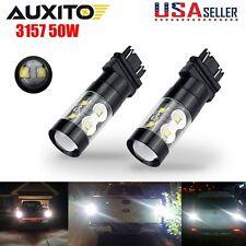AUXITO 3156 3157 LED Bulbs 50W High Power Fog Light Car Driving 6000K LED Bulb
