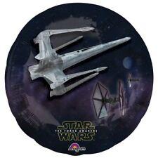 """Star Wars DarkSide Starfighter Birthday Party 31"""" Foil Balloon"""