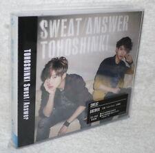 TOHOSHINKI Sweat Answer 2014 Taiwan Ltd CD+DVD+Card (DBSK TVXQ)