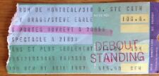 BILLY BRAGG-STEVE EARLE-Ticket Stub-Montreal-Forum-1987