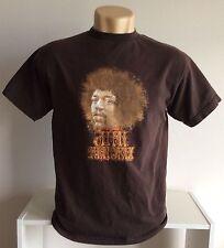 JIMI HENDRIX T Shirt - Portrait Logo Tee - M- Grunge Metal Punk Rock Rap Supreme