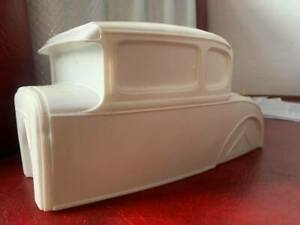 resin cast 1/8 scale ford model A coupe body shell monogram revell hot rod