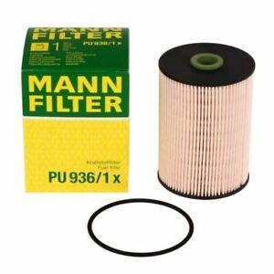 Mann Fuel Filter fits Audi A3 8P1 2.0 TDI 16V 1.9 TDI