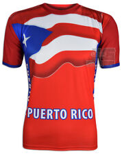 Puerto Rico Tee Jersey Cool Max Polyester PR T-Shirts NEW