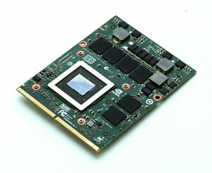 Dell Alienware 17 18 NVIDIA Geforce GTX 770M 3GB Laptop Video Card HW6C9